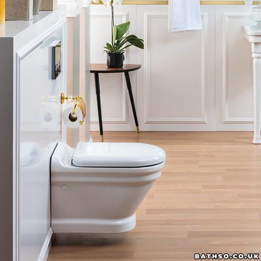 Creavit Antik Wall Hung Combined Bidet Toilet