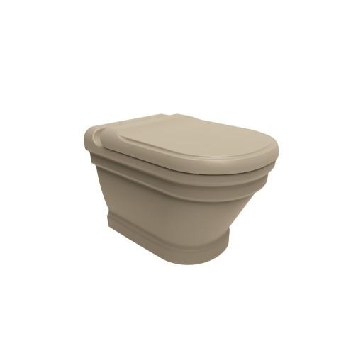 Creavit Antik Wall Hung Combined Bidet Toilet - Cappuccino Matt