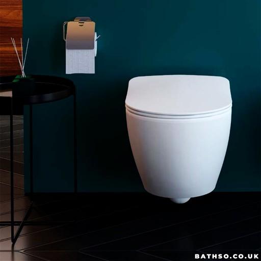 Creavit Free Wall Hung Combined Bidet Toilet
