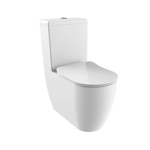 Creavit Free Close Coupled Combined Bidet Toilet