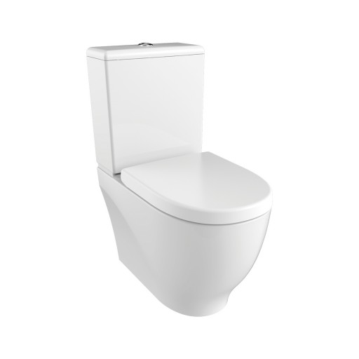 Creavit Mare Rimless Close Coupled Combined Bidet Toilet