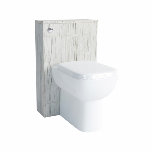 Lecico Lima Back to Wall Toilet Unit & Cistern - 500MM - Whitewood