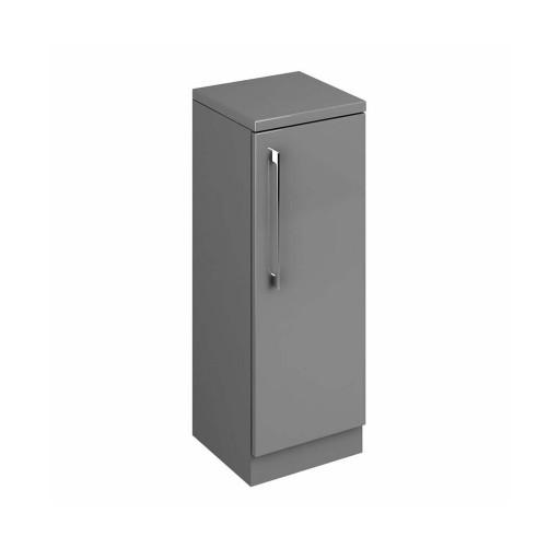 Lecico Stonely Single Door Base Unit - 300MM - Gloss Grey