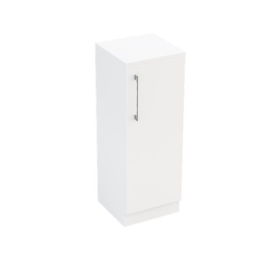 Lecico Stonely Single Door Base Unit - 300MM - Gloss White