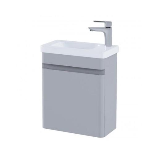 RAK Resort Wall Hung Cloakroom Vanity Unit & Basin - 450MM - Stone