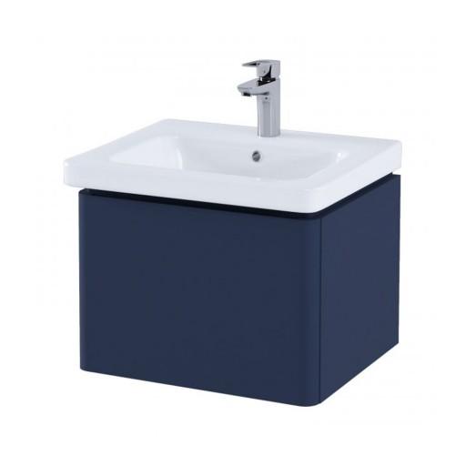 RAK Resort Wall Hung Vanity Unit & Basin - 550MM - Denim Blue