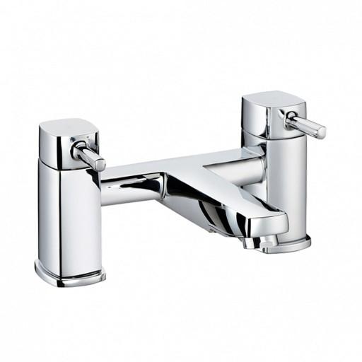 Trisen Arden Chrome Double Lever Bath Filler