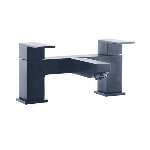 Trisen Kawa Black Double Lever Bath Filler