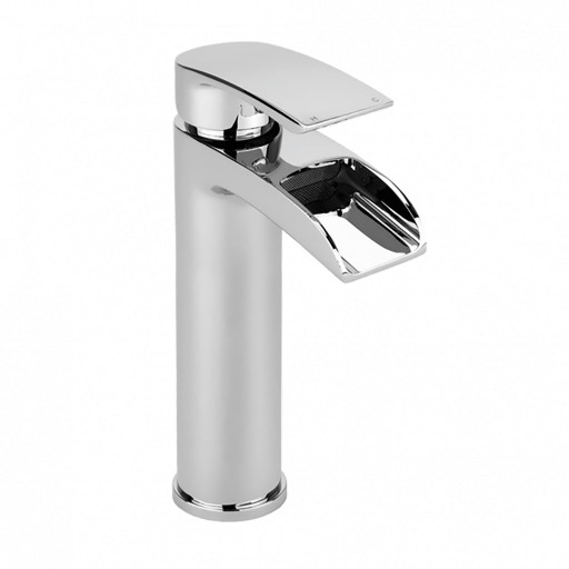 Trisen Merion Chrome Tall Single Lever Mono Basin Mixer Tap