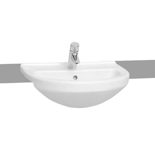 VitrA S50 Round Semi Recessed Basin - 550 mm