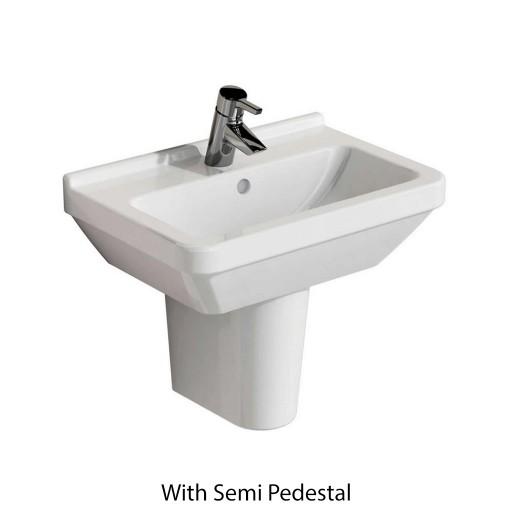 VitrA S50 Square Cloakroom Basin - 450MM