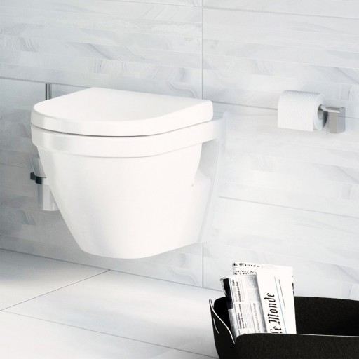 VitrA S50 Wall Hung Toilet - 480 mm Projection