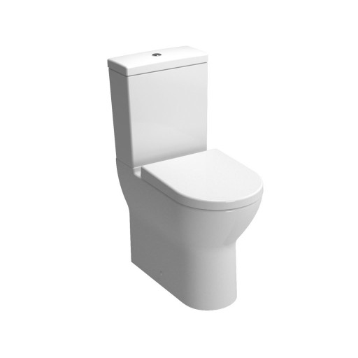 VitrA S50 Comfort Height Close Coupled Toilet - Closed Back