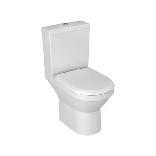 VitrA S50 Compact Close Coupled Toilet - Open Back