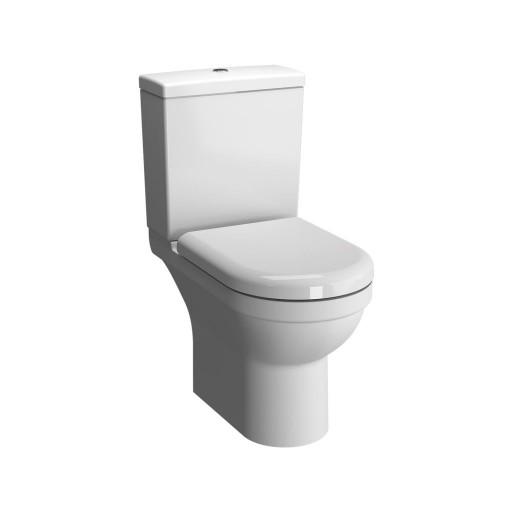 VitrA S50 Close Coupled Rimless Toilet - Open Back