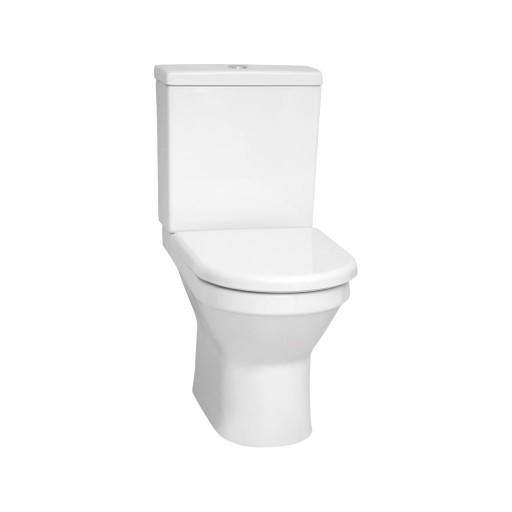 VitrA S50 Close Coupled Rimless Toilet - Closed Back