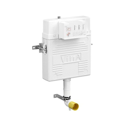 VitrA Concealed Cistern for Back to Wall Toilets - 3/6 Litre Dual Flush