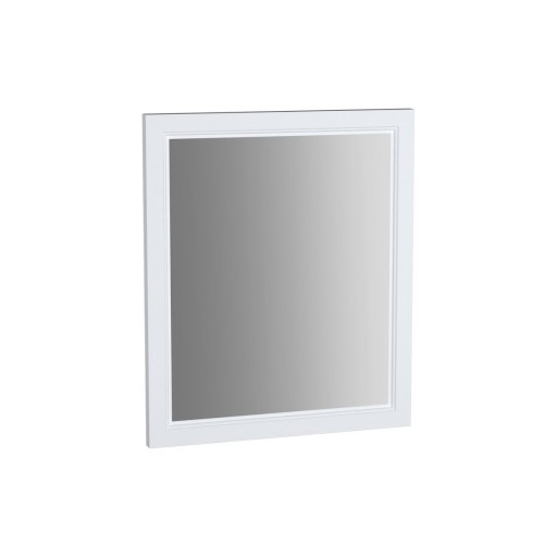 VitrA Valarte Matt White Flat Mirror - 595MM