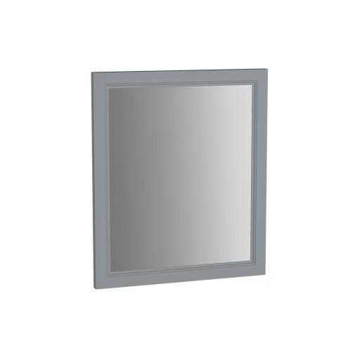 VitrA Valarte Matt Grey Flat Mirror - 595MM
