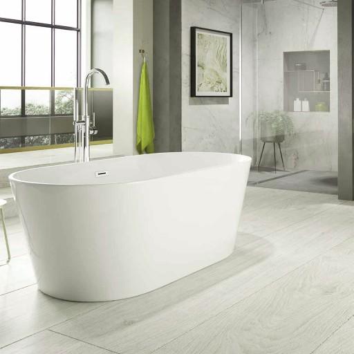 Trojan Hampton Twin-skinned Acrylic Bath - 1700MM x 800MM