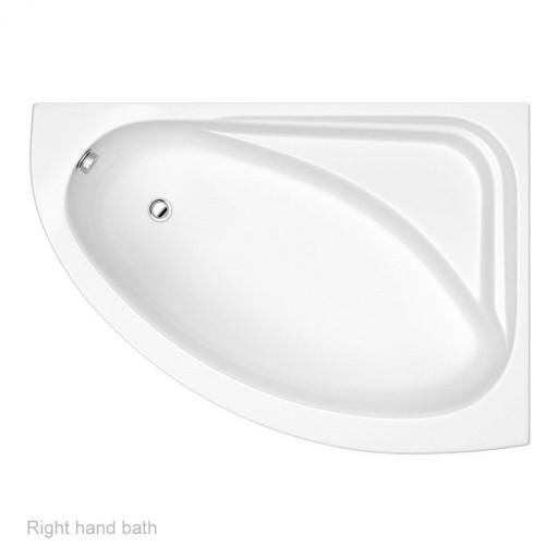 Trojan Orlando Quadrant Corner Bath - 1500MM x 1040MM