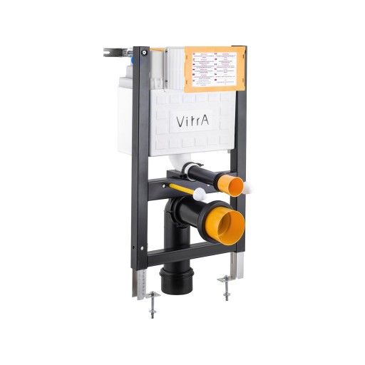 VitrA Reduced Height 3/6 Litre Dual Flush Wall Hung Toilet Frame