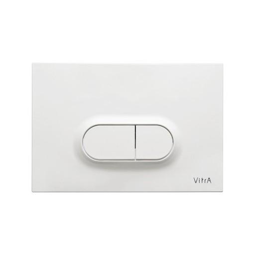 VitrA Loop O Toilet Dual Flush Button - Gloss White