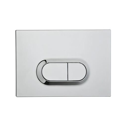 VitrA Loop O Toilet Dual Flush Button - Chrome