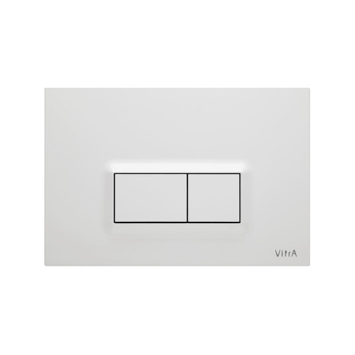 VitrA Loop R Toilet Dual Flush Button - Gloss White