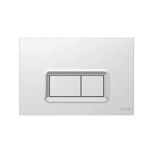VitrA Loop R Toilet Dual Flush Button - Chrome