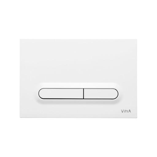 VitrA Loop T Toilet Dual Flush Button - Gloss White