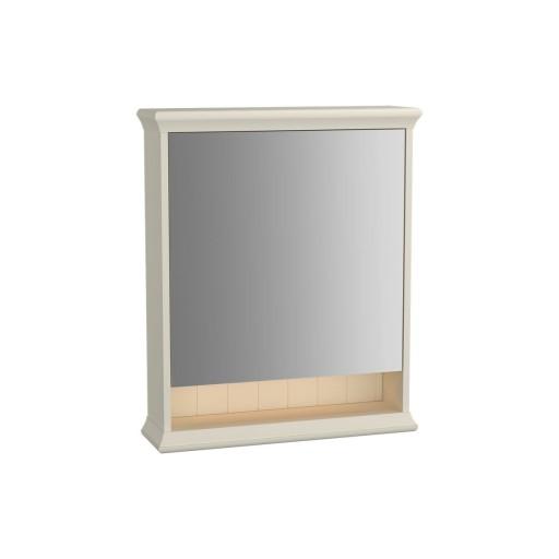 VitrA Valarte Right Hinged Matt Ivory Illuminated Mirror Cabinet 630MM