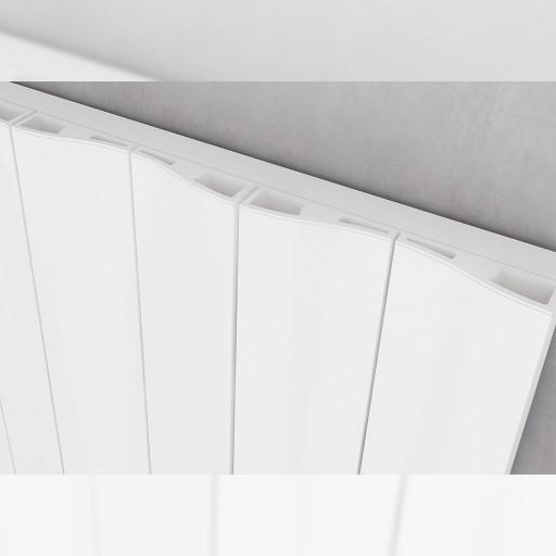 Sanica Faro Vertical Single Panel Aluminium Radiator