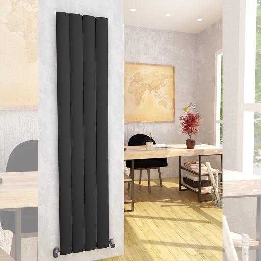 Sanica Malaga Vertical Aluminium Radiator