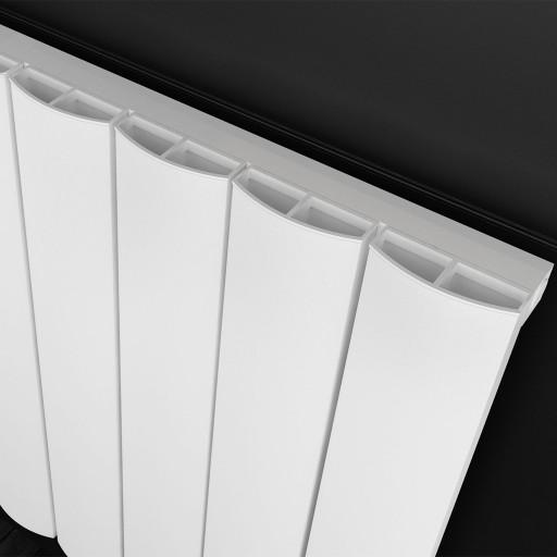 Sanica Malaga Horizontal Aluminium Radiator