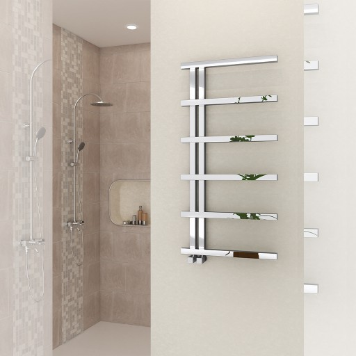 Sanica Serpa Vertical Stainless Steel Radiator