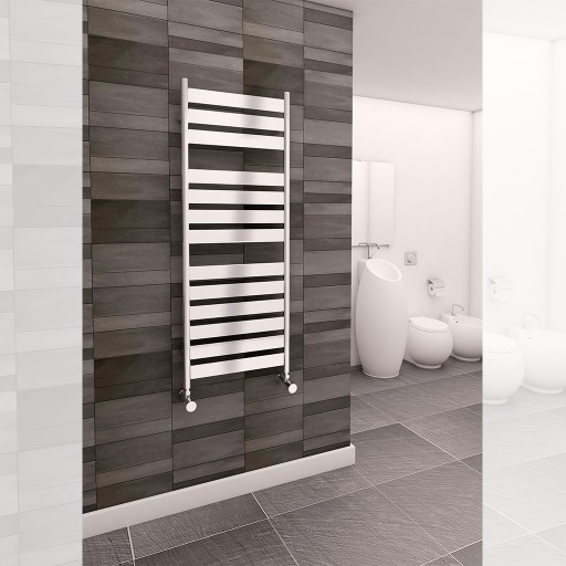 Sanica Inma Vertical Single Panel Steel Designer Radiator