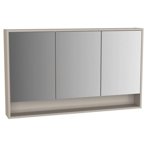 VitrA Integra Illuminated Mirror Cabinet - 1200MM - Gritstone