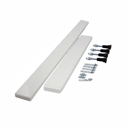 April Rectangular Shower Tray Riser Kit - 1400 mm to 1700 mm