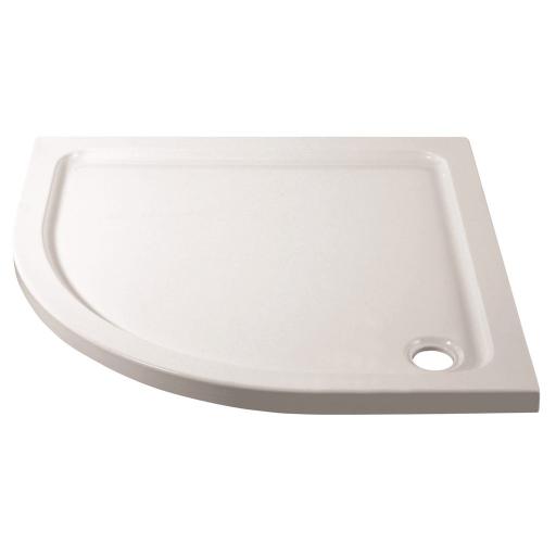 April Stone Shower Tray - Quadrant - 900MM x 900MM