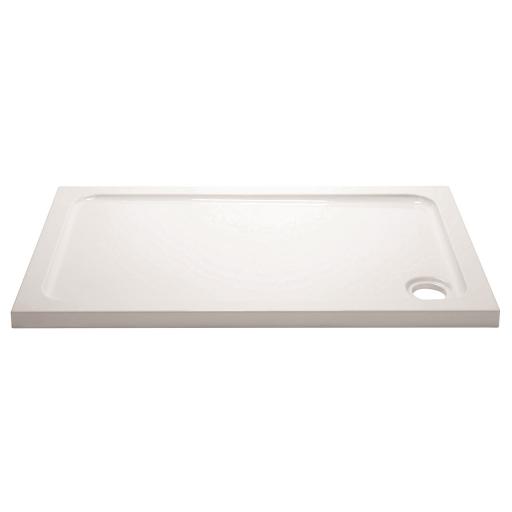 April Stone Shower Tray - Rectangular - 1100MM x 700MM