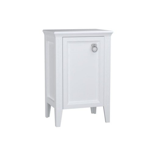 VitrA Valarte Left Hinged Single Door Matt White Storage Cabinet - 535MM
