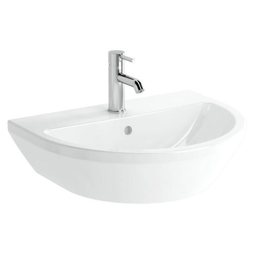 VitrA Integra Bathroom Suite - Close Coupled Toilet & Wall Hung Basin