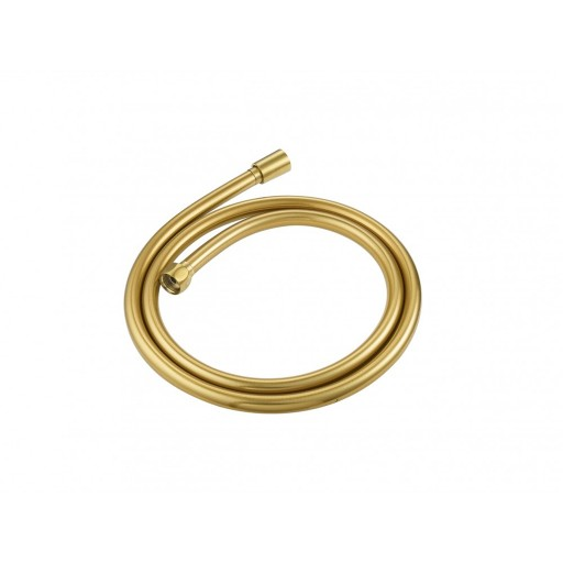 Flova Levo Gold Smooth PVC Shower Hose - 1500MM