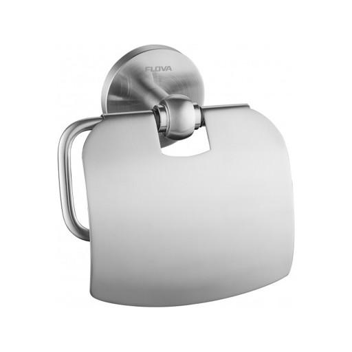 Flova Levo Nickel Covered Toilet Roll Holder