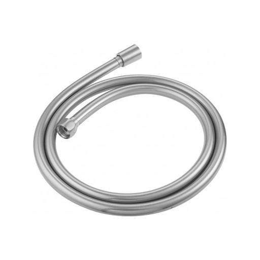 Flova Levo Nickel Smooth PVC Shower Hose - 1500MM
