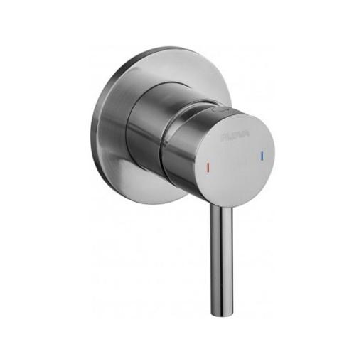 Flova Levo Nickel Single Outlet Concealed Manual Shower Valve