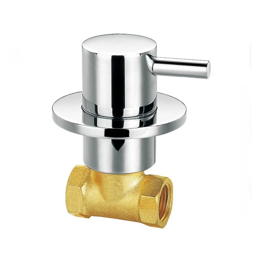 Flova Levo Chrome Wall Mounted Concealed Cold Water Shut Off Valve