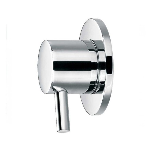 Flova Levo Chrome Wall Mounted Concealed Hot Water Shut Off Valve