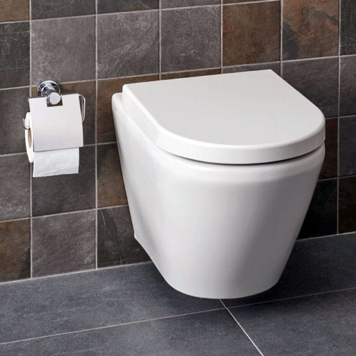 VitrA Integra Rimless Wall Hung Toilet - 545MM Projection